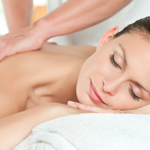 Massage as part of beauty package