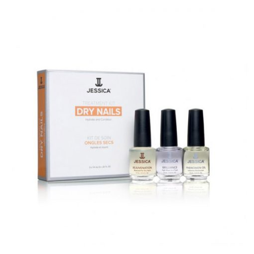 Jessica Nail Treatment Kit For Dry Nails