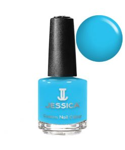 Blazing Blue Jessica Nail Polish - N101